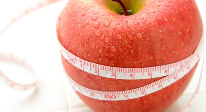 ダイエットイメージ―りんごとメジャー